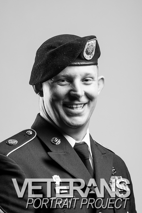 Andrew Smith<br /> Army<br /> E-6<br /> Combat Engineer<br /> 2004 - Present<br /> OEF<br /> <br /> Veterans Portrait Project<br /> St. Louis, MO