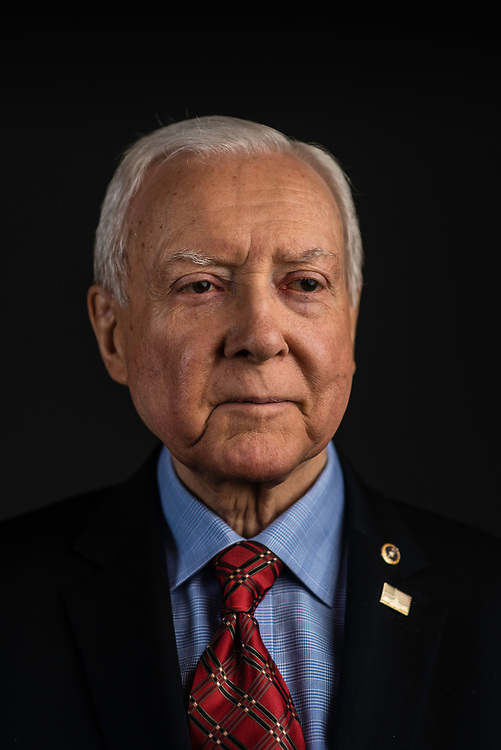 WASHINGTON, DC -- 12/21/17 -- Senator Orrin Hatch is the senior senator from Utah, Chairman of the Senate Finance Committee and President pro tempore of the United States Senate..…by André Chung #_AC26990