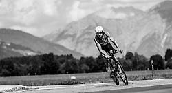 28.08.2016, Zell am See Kaprun, AUT, IRONMAN 70.3 Salzburg, im Bild Patrick Jaberg (SUI) // Patrick Jaberg (SUI) during IRONMAN 70.3, Salzburg at Zell am See- Kaprun, Austria on 2016/08/28. EXPA Pictures © 2016, PhotoCredit: EXPA/ JFK