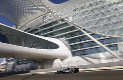 November 23, 2018 - Abu Dhabi, United Arab Emirates - during the 2018 Formula One World Championship, Abu Dhabi Grand Prix from November 22 to 25  in Yas Marina - Photo Francois Flamand / DPPI Motorsports: FIA Formula One World Championship 2018, Grand Prix of Abu Dhabi, World Championship;2018;Grand Prix;Abu Dhabi, #44 Lewis Hamilton (GBR, Mercedes AMG Petronas F1 Team) (Credit Image: © Hoch Zwei via ZUMA Wire)