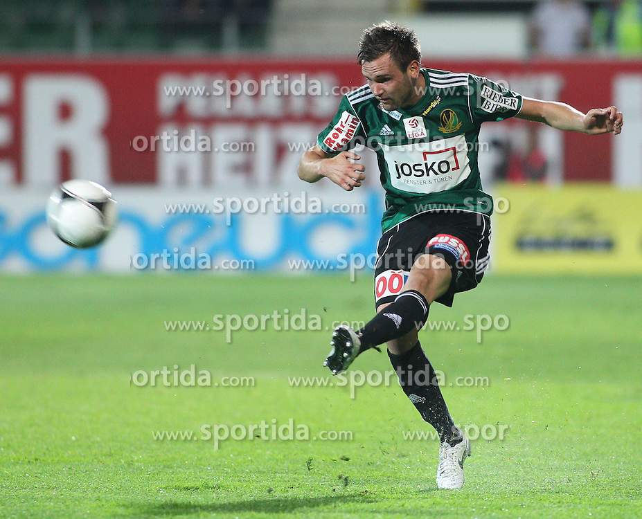 10.05.2012, Keine Sorgen Arena, Ried, AUT, 1. FBL, FC Wacker Innsbruck, 34. Spieltag, im Bild Emanuel Schreiner, (SV Josko Ried, #19), during the Austrian Bundesliga Match, 34th Round, between SV Josko Ried and FC Wacker Innsbruck at the Keine Sorgen Arena, Ried, Austria on 20120510. EXPA Pictures © 2012, PhotoCredit: EXPA/ R. Hackl