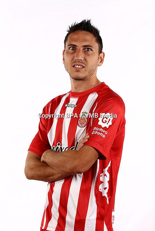 Spain - La Liga Adelante 2014-2015 / <br /> ( Girona F.C. ) - <br /> Gerard Bordas Bahamontes