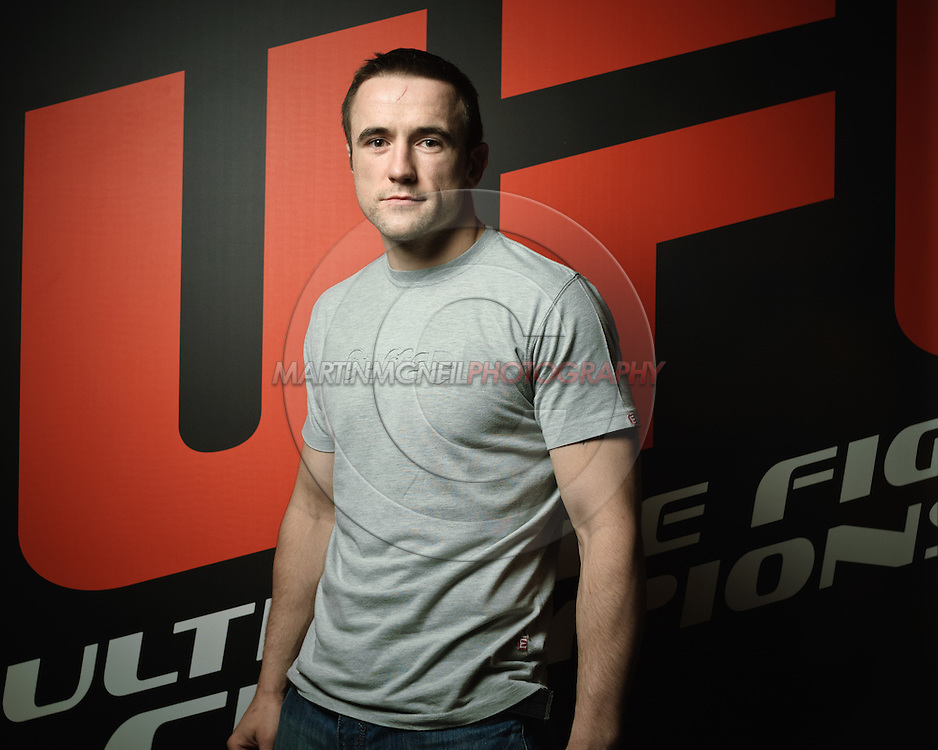 "A portrait of mixed martial arts athlete Paul ""Relentless"" Taylor"