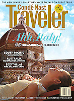 Conde Nast Traveler US Cover Dec 2010