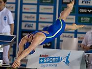 BIANCHI Ilaria Fiamme Azzurre<br /> 100 farfalla donne<br /> Riccione 11-04-2018 Stadio del Nuoto <br /> Nuoto campionato italiano assoluto 2018<br /> Photo &copy; Andrea Staccioli/Deepbluemedia/Insidefoto