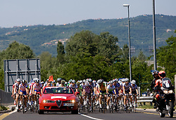 The start of 1st stage of Tour de Slovenie 2009 from Koper (SLO) to Villach (AUT),  229 km, on June 18 2009, in Koper, Slovenia. (Photo by Vid Ponikvar / Sportida)
