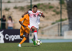 AUBAGNE, FRANCE - Tuesday, May 30, 2017: Bahrain's Saleh Sanad Ahmed in action during the Toulon Tournament Group B match between Bahrain and Ivory Coast at the Stade de Lattre-de-Tassigny. (Pic by Laura Malkin/Propaganda)
