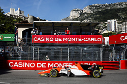 May 24, 2018 - Montecarlo, Monaco - 09 Roberto MEHRI from Spain of MP MOTORSPORT during the Monaco Formula 2 Grand Prix at Monaco on 24th of May, 2018 in Montecarlo, Monaco. (Credit Image: © Xavier Bonilla/NurPhoto via ZUMA Press)