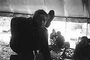 Acrobatics, Glastonbury, 1995.