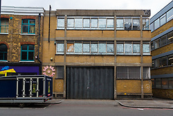 The former warehouse is set to be altered and extended, the noise from which will create significant problems for neighbouring Strongroom Studios and their associated bar and restaurant courtyards, with whom they share a party wall. London, March 13 2019.