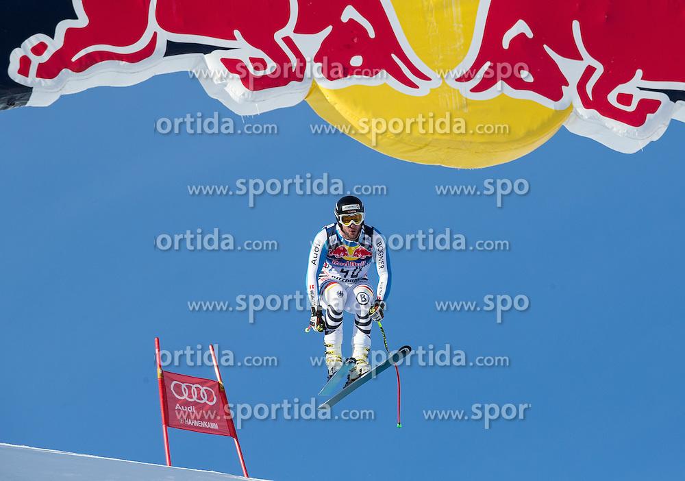 24.01.2013, Streif, Kitzbuehel, AUT, FIS Weltcup Ski Alpin, Abfahrt, Herren, 3. Training, im Bild Stephan Keppler (GER) // Stephan Keppler of Germany in action during 3th practice of mens Downhill of the FIS Ski Alpine World Cup at the Streif course, Kitzbuehel, Austria on 2013/01/24. EXPA Pictures © 2013, PhotoCredit: EXPA/ Johann Groder