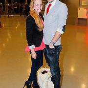 NLD/Amsterdam/20130214 - Premiere musical Peter Pan, Raynor Arkenbout en partner