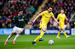 Edward Upson of Bristol Rovers is marked by Ruben Lameiras of Plymouth Argyle - Mandatory by-line: Ryan Hiscott/JMP - 23/03/2019 - FOOTBALL - Home Park - Plymouth, England - Plymouth Argyle v Bristol Rovers - Sky Bet League One