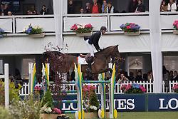 Schuttert Frank (NED) - Winchester HS<br /> Grand Prix Longines de la Ville de La Baule<br /> CSIO La Baule 2013<br /> © Dirk Caremans