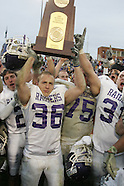 NCAA Championship: Stagg Bowl 33: Mount Union 35, Wisc.-Whitewater 28