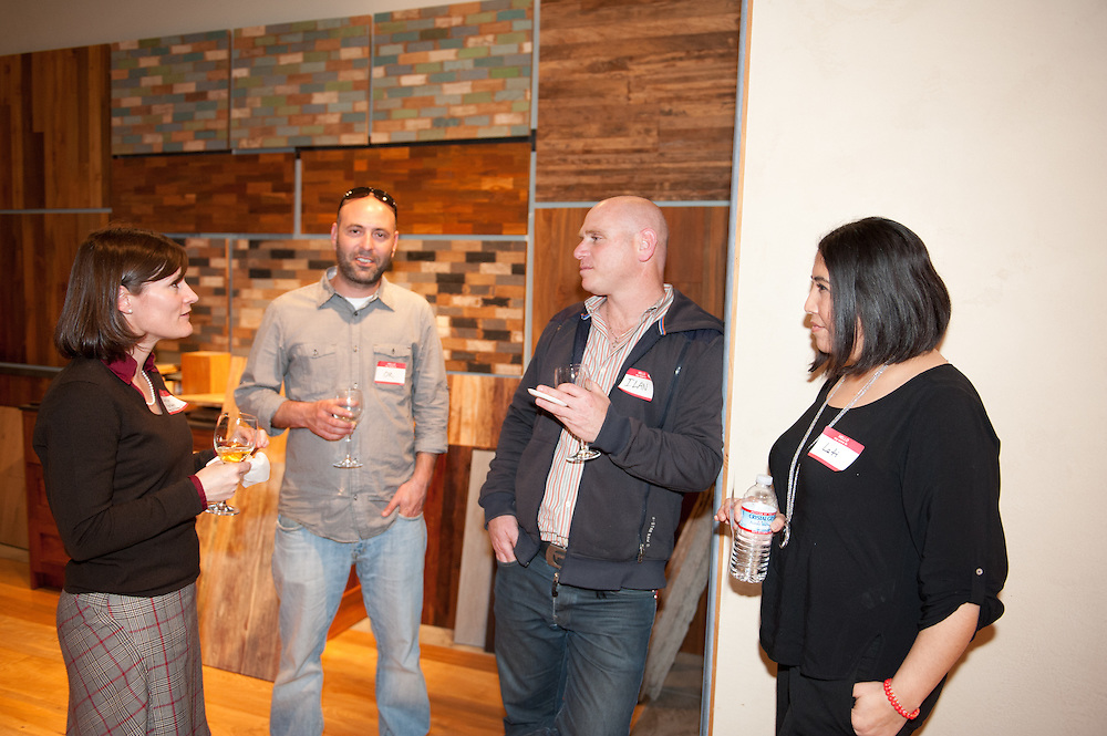 Event at Wooden Widnow showroom in SF with Page & Turnbull and e-Builts.
