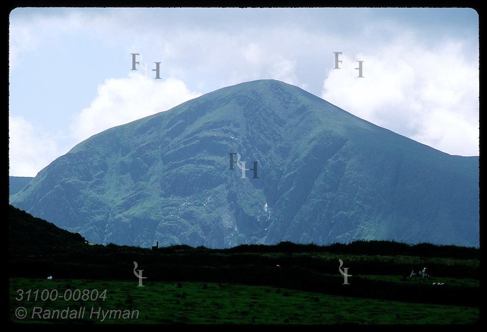 Brandon Mountain, Irelnd's second highest-3116', was St Brendan's hermitage site; Dingle Peninsula Ireland