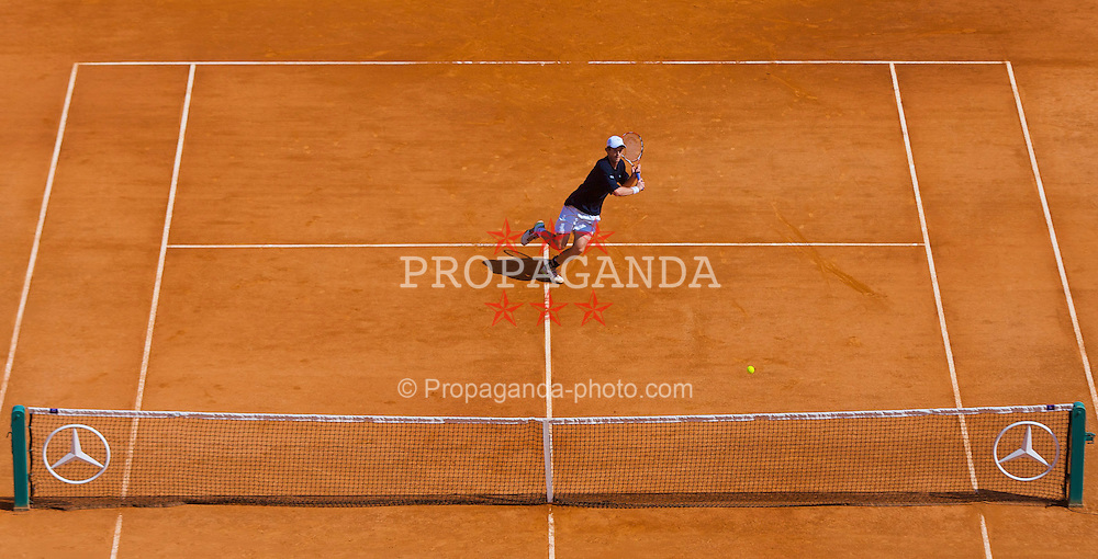 MONTE-CARLO, MONACO - Thursday, April 24, 2008: Andy Murray (GBR) during the third round of the Masters Series Monte-Carlo at the Monte-Carlo Country Club. (Photo by David Rawcliffe/Propaganda)