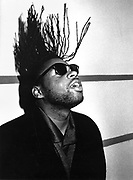 Jazzie B of Soul II Soul, London, 1990s.