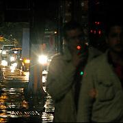 Vista nocturna de la Ciudad de Caracas..Caracas, Venezuela 12-11-2009. <br /> Photography by Aaron Sosa