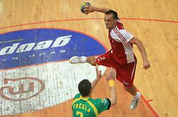 Boris Becirovic of Slovan at handball game RD Slovan vs RD Merkur  in 7th round of MIK First league, on October 24, 2008 in Ljubljana, Slovenia. (Photo by Vid Ponikvar / Sportal Images)