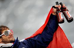 14.06.2010, Cape Town Stadium, Kapstadt, RSA, FIFA WM 2010, Italien vs Paraguay im Bild italienischer Fan mit Bierflaschen in der Hand, EXPA Pictures © 2010, PhotoCredit: EXPA/ InsideFoto/ G. Perottino, ATTENTION! FOR AUSTRIA AND SLOVENIA ONLY!!! / SPORTIDA PHOTO AGENCY