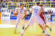 DESCRIZIONE : Cagliari Qualificazione Eurobasket 2015 Qualifying Round Eurobasket 2015 Italia Russia - Italy Russia<br /> GIOCATORE : Stefano Gentile Marco Cusin<br /> CATEGORIA : Palleggio Blocco<br /> EVENTO : Cagliari Qualificazione Eurobasket 2015 Qualifying Round Eurobasket 2015 Italia Russia - Italy Russia<br /> GARA : Italia Russia - Italy Russia<br /> DATA : 24/08/2014<br /> SPORT : Pallacanestro<br /> AUTORE : Agenzia Ciamillo-Castoria/ Claudio Atzori<br /> Galleria: Fip Nazionali 2014<br /> Fotonotizia: Cagliari Qualificazione Eurobasket 2015 Qualifying Round Eurobasket 2015 Italia Russia - Italy Russia<br /> Predefinita :