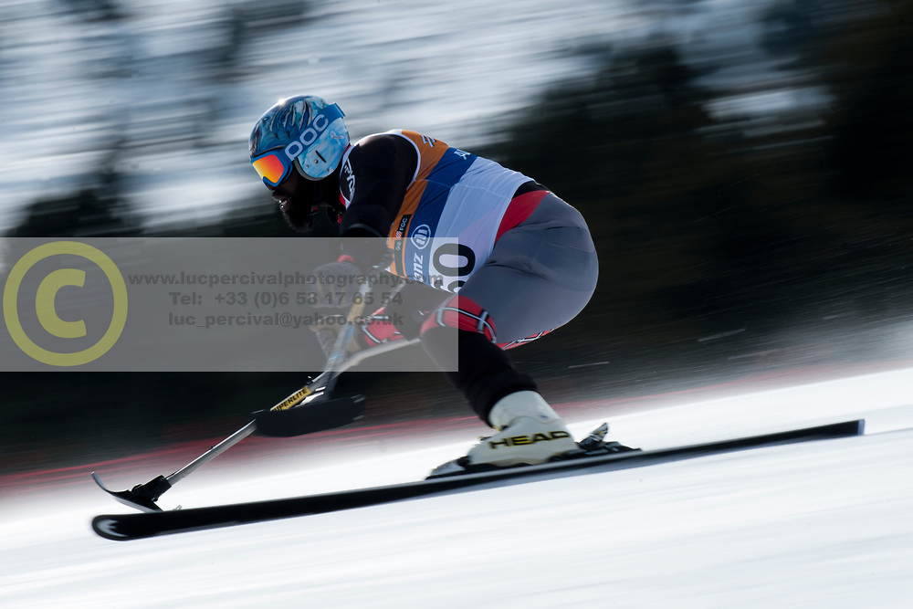 GREEN Ralph, USA, Super Combined, 2013 IPC Alpine Skiing World Championships, La Molina, Spain
