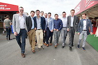 04/078/2013  galway lads all dressed up  on the last day of the  Galway Races. Picture:Andrew Downes