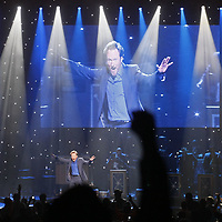 """Conan O'Brien kicked off his """"Legally Prohibited from Being Funny on Television Tour"""" at the Hult Center in Eugene on Monday, April 12, 2010."""