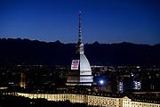 © Filippo Alfero<br /> Salone dell'Auto Torino, Parco Valentino<br /> Torino, 7-11/06/2017<br /> Nella foto: proiezioni sulla Mole Antonelliana