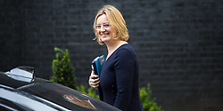 London, July 18th 2017. Home Secretary Amber Rudd attends the last cabinet meeting before the Parliamentary summer recess at Downing Street in London.