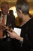 Kevin crossley-Holland and Jacqueline Wilson. The South Bank Show Awards. The10th annual awards rewarding excellence in arts, The Savoy , London.January 27 2006. ONE TIME USE ONLY - DO NOT ARCHIVE  © Copyright Photograph by Dafydd Jones 66 Stockwell Park Rd. London SW9 0DA Tel 020 7733 0108 www.dafjones.com