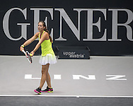 Daria Kasatkina (RUS) during the WTA Generali Ladies Open at TipsArena, Linz<br /> Picture by EXPA Pictures/Focus Images Ltd 07814482222<br /> 11/10/2016<br /> *** UK & IRELAND ONLY ***<br /> <br /> EXPA-REI-161011-5000.jpg
