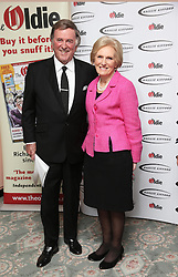 Sir Terry Wogan and Mary Berry  at the Oldie of the Year Awards in London, Tuesday, 4th February 2014. Picture by Stephen Lock / i-Images