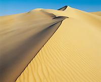 Crest of sand dune