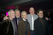 SIAN MATHIAS; SIR IAN MCKELLEN; RONALD PICKUP; MATTHEW KELLY; ROGER REES, The after-party for Waiting for Godot.( Opening at the Theatre Royal Haymarket. )  Haymarket Hotel. London. 27 January 2010 *** Local Caption *** -DO NOT ARCHIVE-&copy; Copyright Photograph by Dafydd Jones. 248 Clapham Rd. London SW9 0PZ. Tel 0207 820 0771. www.dafjones.com.<br /> SIAN MATHIAS; SIR IAN MCKELLEN; RONALD PICKUP; MATTHEW KELLY; ROGER REES, The after-party for Waiting for Godot.( Opening at the Theatre Royal Haymarket. )  Haymarket Hotel. London. 27 January 2010