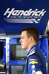 March 10, 2018 - Avondale, Arizona, United States of America - March 10, 2018 - Avondale, Arizona, USA: Alex Bowman (88) hangs out in the garage during practice for the Ticket Guardian 500(k) at ISM Raceway in Avondale, Arizona. (Credit Image: © Chris Owens Asp Inc/ASP via ZUMA Wire)