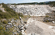 Portland stone quarry Isle of Portland, Dorset, England, UK