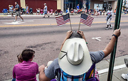 Scenes from the Corn Palace Stampede Rodeo Parade on Saturday down Main Street in Mitchell. (Matt Gade/Republic)