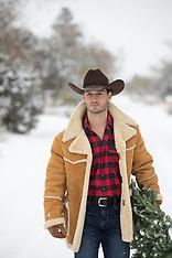 Christmas/Winter Cowboy