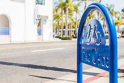 Bike Rack Downtown Oceanside