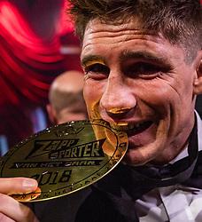 19-12-2018 NED: Sportgala NOC * NSF 2018, Amsterdam<br /> In de Amsterdamse AFAS vindt het traditionele NOC NSF Sportgala plaats / Rico Verhoeven, Glory Heavyweight Kickboxing World Champion wordt door de jeugd als sporter van het jaar 2018 gekozen.