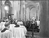 1961 Patrician Year Celebrations: Papal Legate Cardinal Grégoire-Pierre Agagianian visits Clonliffe