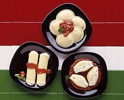 Appetizer Basil Cannelloni Capers Cheese Cream sauce Cutlets Crust Dough Eggplant Gnocchi Lasagna Manicotti Meat balls Meatball