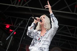Yonaka perform on stage on day 1 of All Points East festival in Victoria Park in London, UK. Picture date: Friday 25 May 2018. Photo credit: Katja Ogrin/ EMPICS Entertainment.