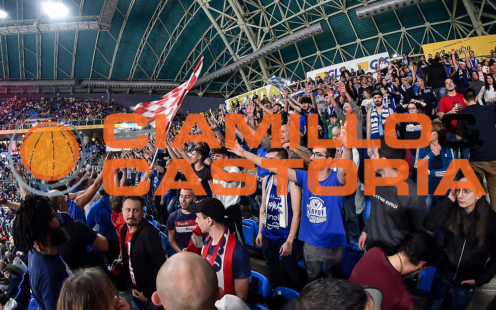 Tifosi Happycasa Brindisi<br /> Happycasa Brindisi - Pompea Fortitudo Bologna<br /> Semifinale<br /> LBA Legabasket Serie A Final 8 Coppa Italia 2019-2020<br /> Pesaro, 15/02/2020<br /> Foto L.Canu / Ciamillo-Castoria