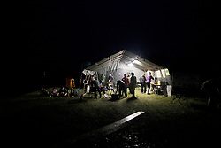 UK ENGLAND 29JUL17 - Refreshments tent at checkpoint 8 of the Trailwalker 2017 challenge across the South Downs, England.<br /> <br /> jre/Photo by Jiri Rezac<br /> <br /> © Jiri Rezac 2017