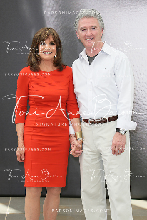 MONTE-CARLO, MONACO - JUNE 12:  Patrick Duffy and Linda Gray pose at a photocall during the 53rd Monte Carlo TV Festival on June 12, 2013 in Monte-Carlo, Monaco.  (Photo by Tony Barson/FilmMagic)