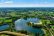 Nederland, Gelderland, Gemeente Aalten, 29-05-2019; Bredevoort, Slingeplas, voormalige zandwinput, nu recreatieplas.  Onderdeel Nationaal Landschap Winterswijk.<br /> Slingeplas, former sand extraction pit, now recreational lake. Part National Landscape Winterswijk.<br /> <br /> luchtfoto (toeslag op standard tarieven);<br /> aerial photo (additional fee required);<br /> copyright foto/photo Siebe Swart